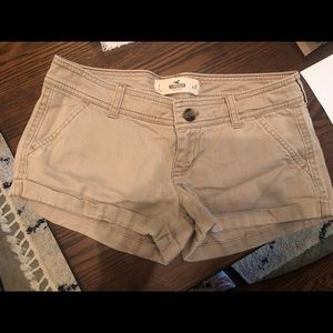 Size 1 (25 width) Hollister Tan Shorts